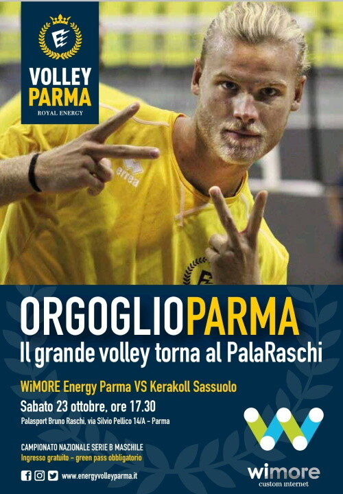 Il grande volley torna al PalaRaschi