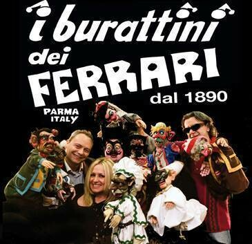 Programma spettacoli burattini dei Ferrari  Museo Giordano Ferrari - il castello dei Burattini