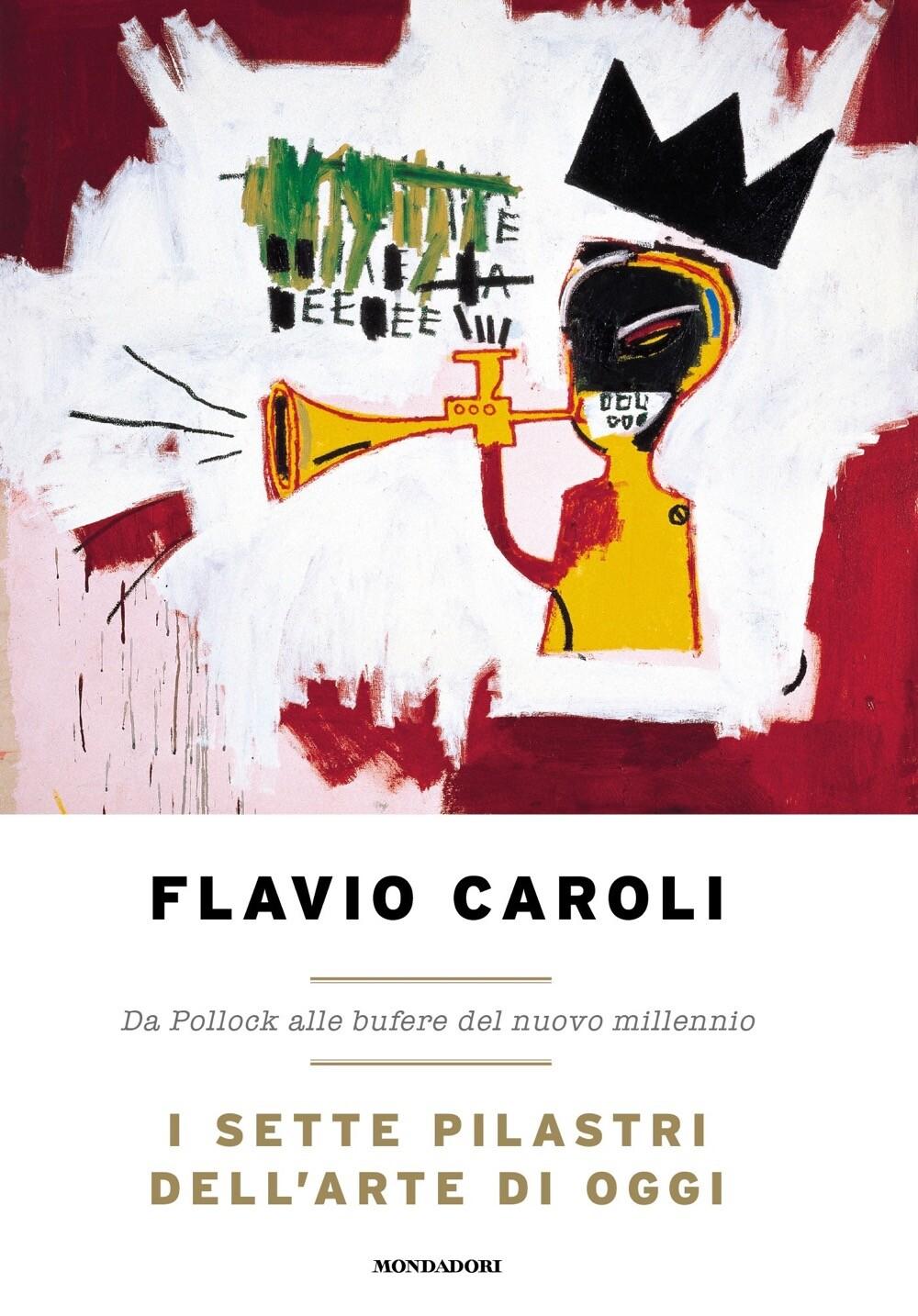 """FLAVIO CAROLI  presenta il suo nuovo libro  """"I SETTE PILASTRI DELL'ARTE DI OGGI.  DA POLLOCK ALLE BUFERE DEL NUOVO MILLENNIO"""""""